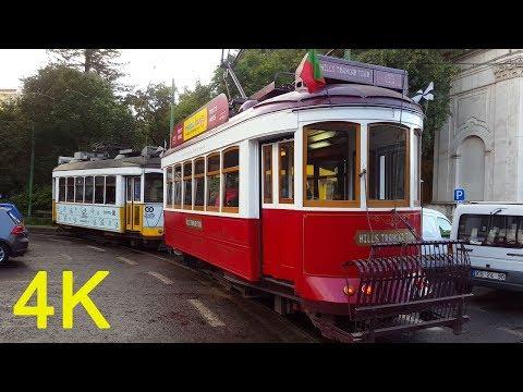 Lisbon, Portugal - A Walking Travel Tour - 4K Ultra HD