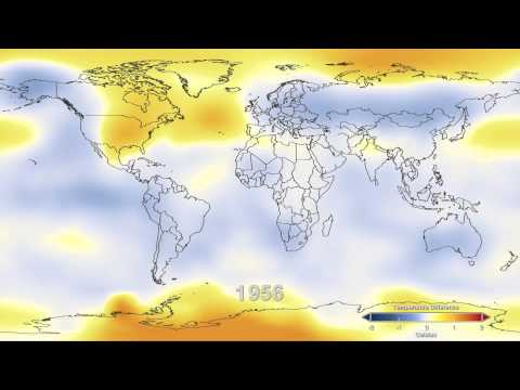 Temperature Data: 1880-2011