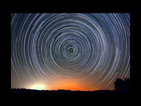 North Celestial Pole Star Rotation