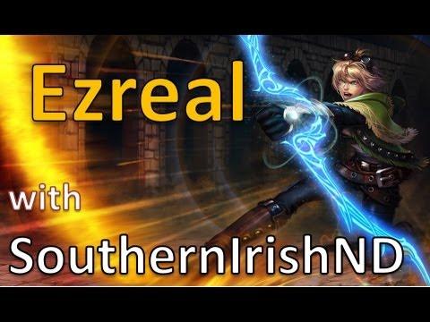 Nottingham Ezreal - League of Legends Full Gameplay/Commentary