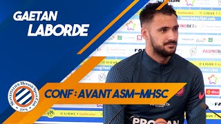 VIDEO: Gaëtan Laborde avant ASM-MHSC !