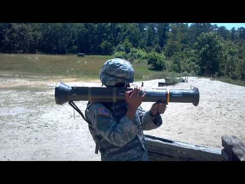 AT4 rocket launcher training. AP Hill. US Army