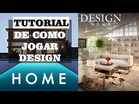 Design Home - Tutorial de Como Jogar o App