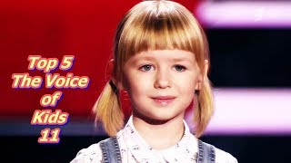 Download lagu Top 5 The Voice of Kids 11