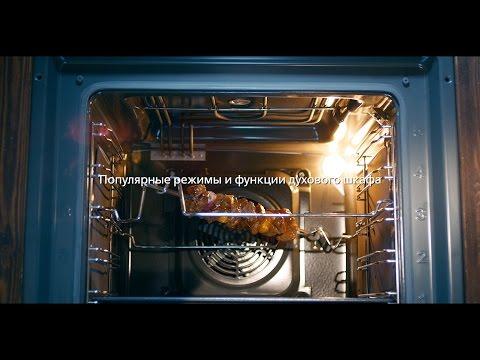 Как обозначается режим гриль в духовке