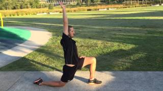 Static Stretching Sequence