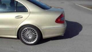 2008 Mercedes E 420 CDI Avantgarde Sport