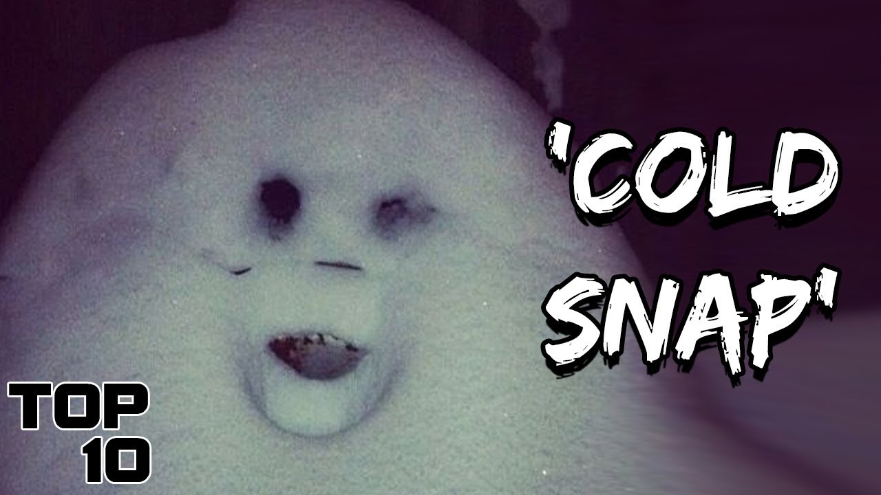 Top 10 Scary Things Found In The Snow Youtube