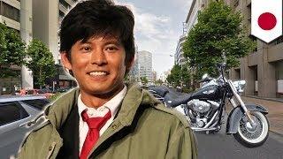 俳優の織田裕二(46)が、都内でバイクを運転中、タクシーと接触し軽...