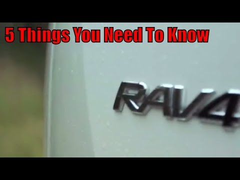 2019 Toyota Rav4: 5 Things You Need To Know