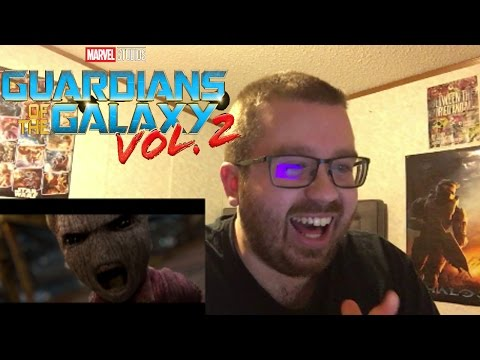 Guardians of the Galaxy Vol. 2 Teaser Trailer Reaction!