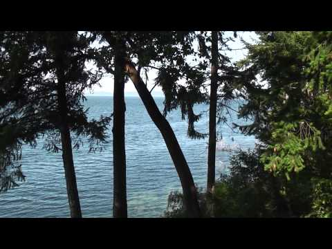 Saanich Lakes End Rd. Beautiful Scenery View HD Saltspring Island to North