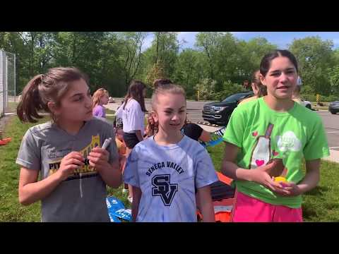 Haine Middle School students spread kindness with rocks …