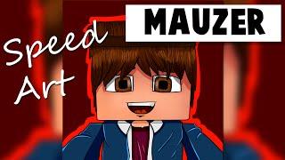 Minecraft SpeedArt - Mauzer