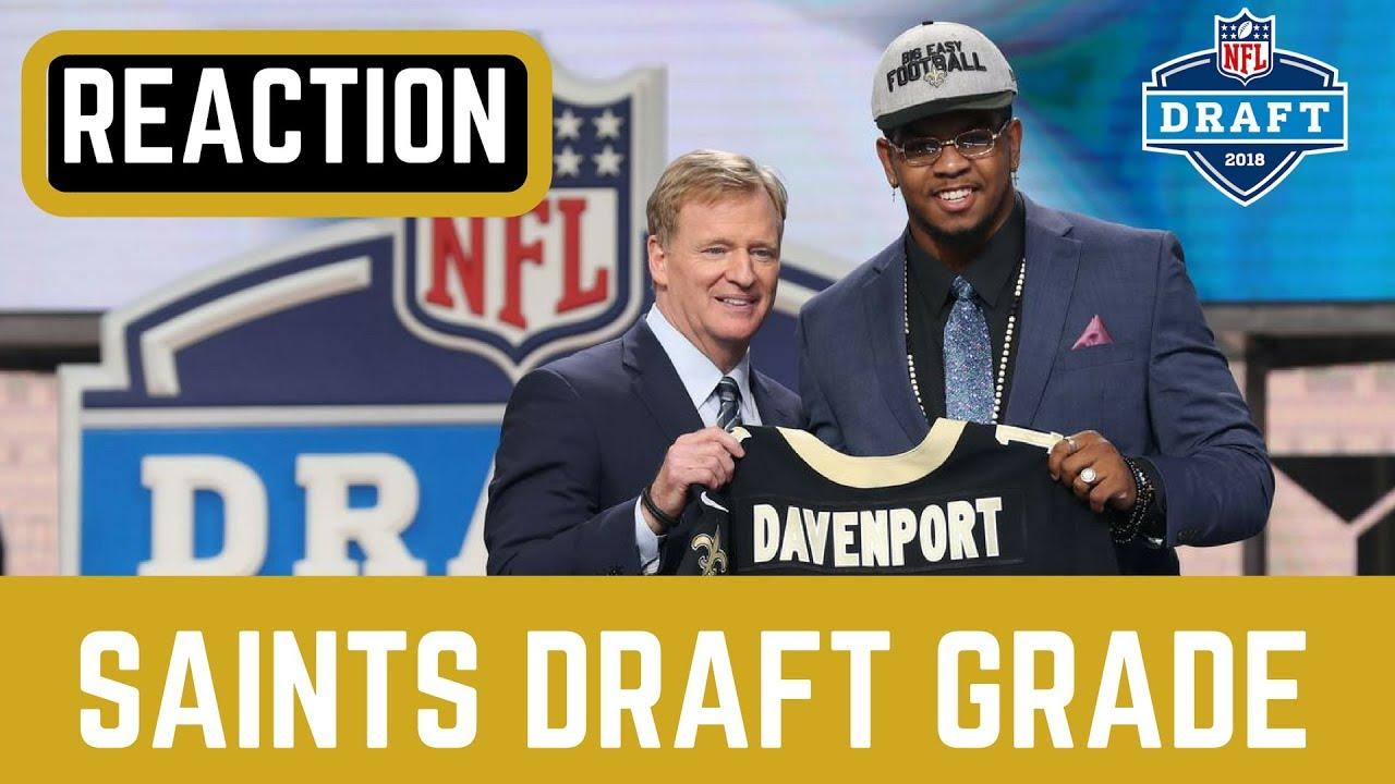 New Orleans Saints Draft Grade 2018  4a1af219e