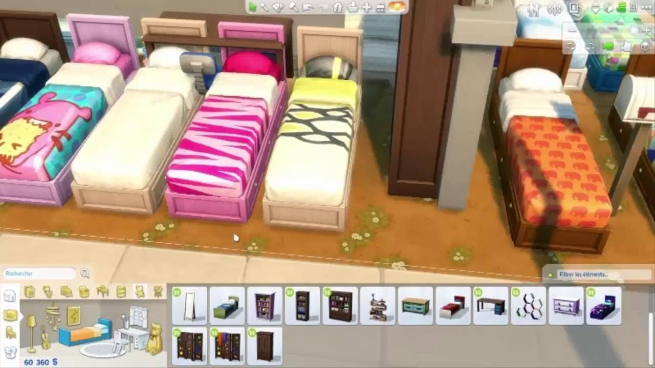 Les sims 4 let 39 s discover kit d 39 objets chambre d 39 enfant for Objet de chambre