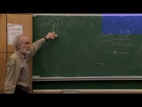 Mikhael Gromov - 5/6 Probability, symmetry, linearity