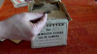 Viewmaster Film Cutter for Stereo Color Camera