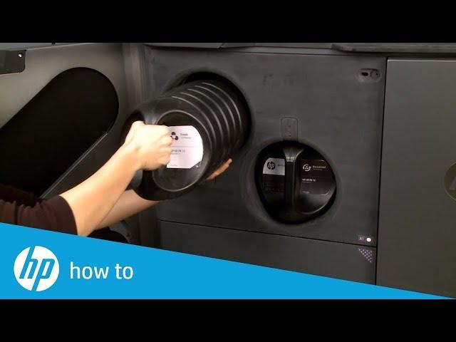Jak zainstalować zasobnik z proszkiem - HP Jet Fusion 300/500