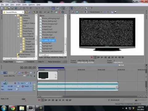 sony vegas how to remove add noise