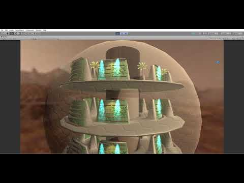 Mars Project Design VR Unity