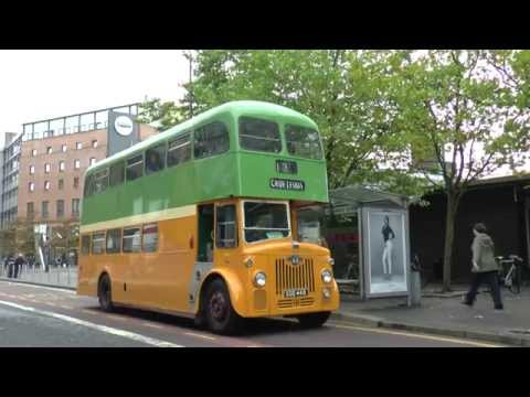 TRADITIONAL GLASGOW BUSES IN GLASGOW CITY CENTRE OCT 2014