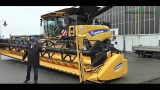 Fabryka kombajnów NEW HOLLAND w Płocku. Zobacz jak produkuje się maszyny rolnicze.