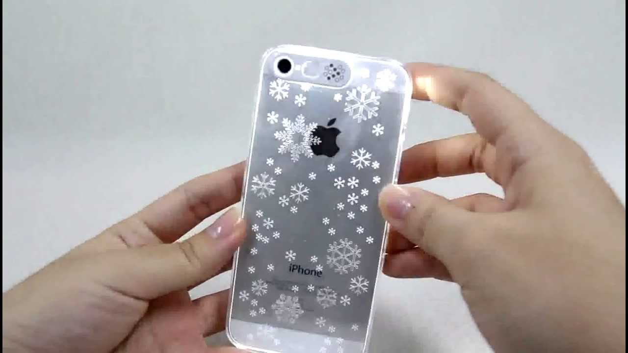 iPhone clear phone cases for iphone 4 : VanD iPhone 5S Clear Case - YouTube