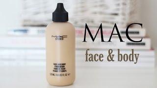 TEST: podkład MAC face & body