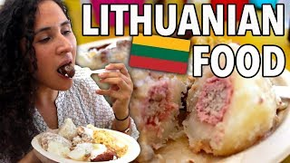 American Tries Lithuanian Food + Learns About Culture