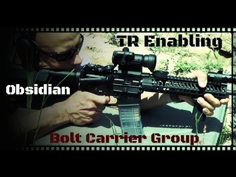 TR Enabling Obsidian AR-15 Bolt Carrier Group (BCG) Review