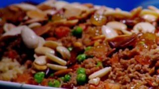 الأرز مع الخضار - ديما حجاوي وسلمى زوايدة
