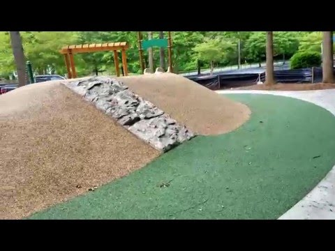 Charlotte Preparatory School Natural Playground