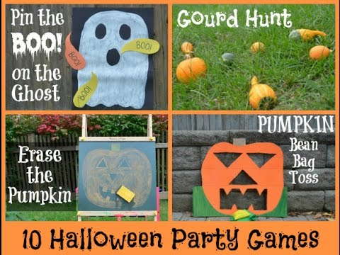 top 10 most popular halloween games for kids popular halloween games youtube - Halloween Outside Games