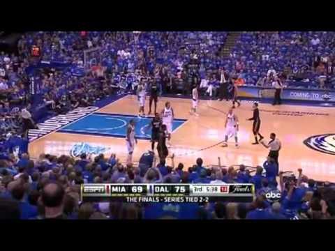 JJ Barea Game 5 2nd half vs Miami Heat (2011 NBA FINALS)
