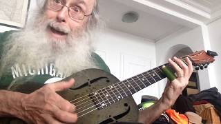Open G Slide Guitar Blues Lesson. I Teach The Passion And Power Of Write Me  A Few Of Your Lines.