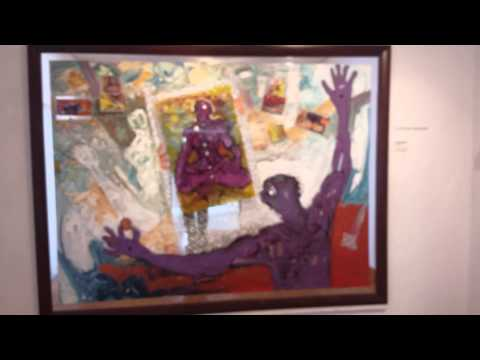 Mystical Thrill  Art exhibition in Thapong Visual Art Centre, Gaborone Botswana