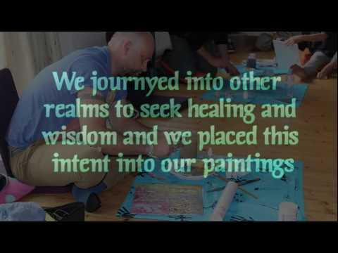 The Visual Journey Shamanic / Sacred Art Workshop in Glastonbury 2018