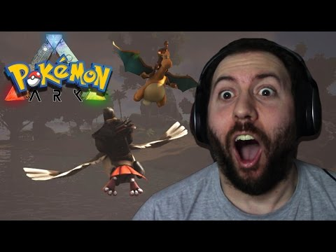 TO THE AIR!!! | ARK Pokemon Mod Survival Evolved Part 2