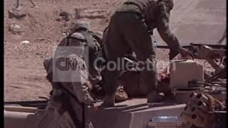 IRAQ FALLUJA TANK HIT