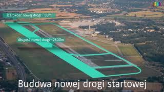 Radosław Włoszek  - plany rozwoju Kraków Airport 2036