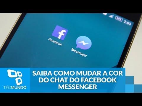Saiba Como Mudar A Cor Do Chat Do Facebook Messenger