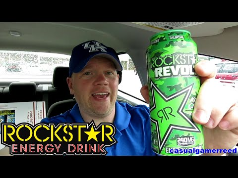 Reed Reviews Rockstar Revolt Energy Drink