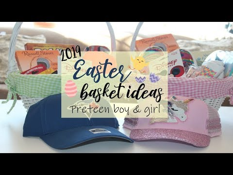 EASTER BASKET IDEAS FOR PRETEEN BOYS & GIRLS 2019 | HAPPILY ORGANIZED CHAOS