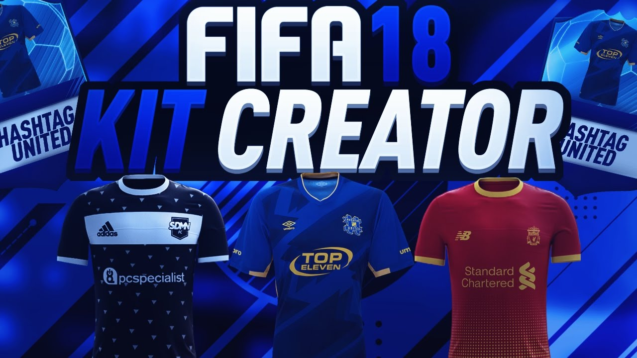 a02f61f9a FIFA 18 KIT CREATOR   FIFA 18 ULTIMATE TEAM KIT CREATOR LEAKED ! DESIGN  YOUR OWN KIT  FIFA18