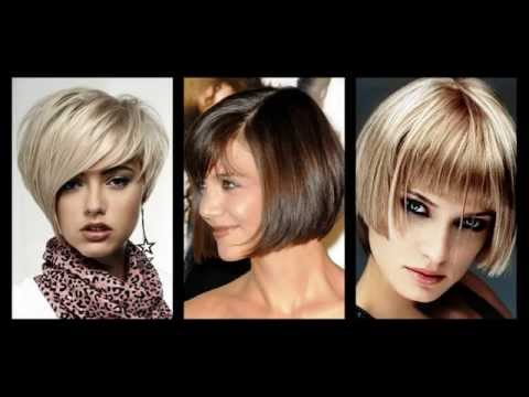 kurzer bob frisuren mit pony youtube. Black Bedroom Furniture Sets. Home Design Ideas