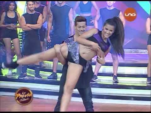 ¡Lorena Flores y Arlhinson Samaniego bailan en Duelo! LaPreviaDeBailando