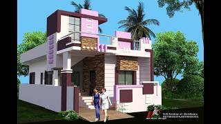 23X50 ft BEST HOUSE PLAN WITH 3D FRONT ELEVATIONS