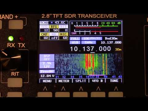 mcHF SDR QRP RS-918 Review And Demo Portable Ham Radio