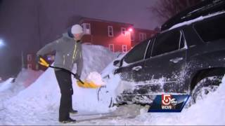 Boston snow emergency, parking ban remain in effect